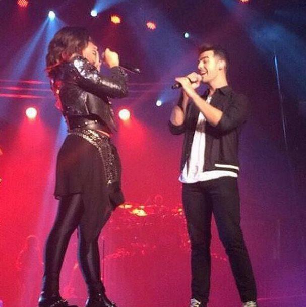Camp Rock reunion! Joe Jonas surprises Demi Lovato on stage