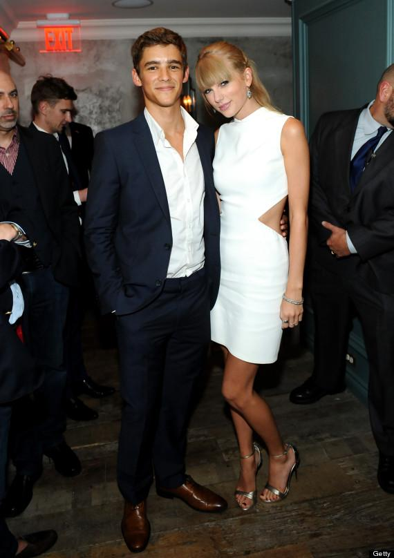 Taylor Swift, Brenton Thwaites Reportedly Flirt During Private Party
