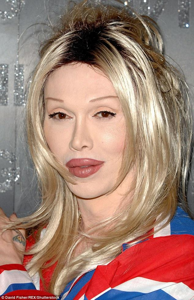 Pete Burns' Facial Appearance Shocks CBBBOTS Viewers   Daily Mail Online