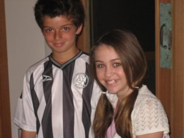 Miley Cyrus & Thomas Sturges as kids - Oh No They Didn't!