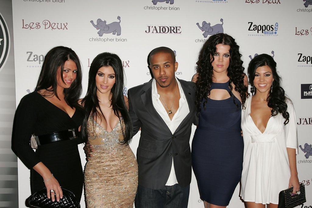 Kim Kardashian and Marques Houston Photos Photos - Zimbio