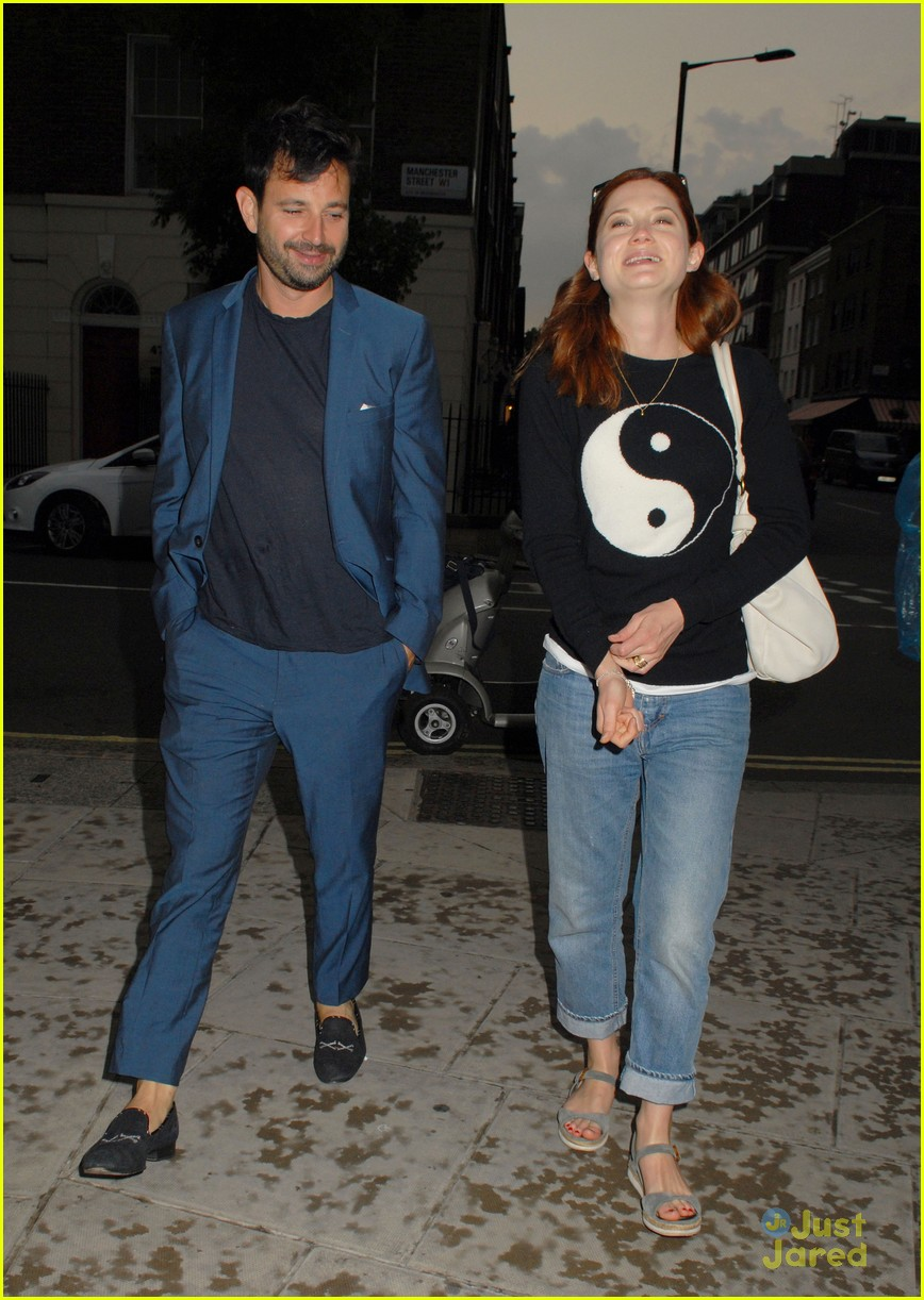 Bonnie Wright On Dating Older Boyfriend Simon Hammerstein: 'No One