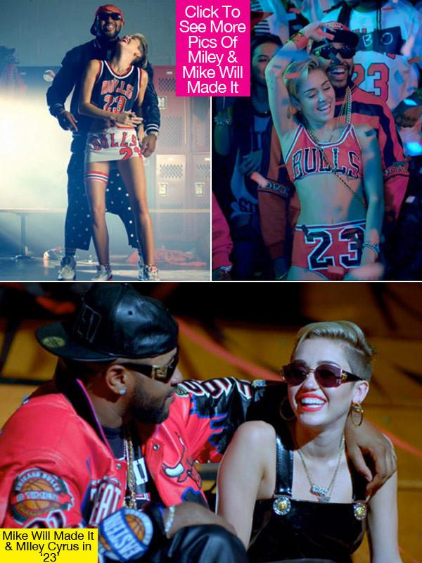 Pics Photos - Video Mike Will Made It Ft Miley Cyrus Wiz Khalifa Juicy