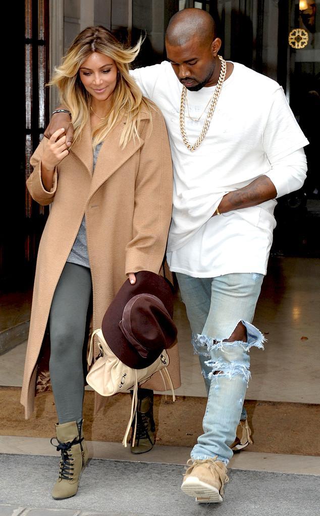 Kim Kardashian, Kanye West Images