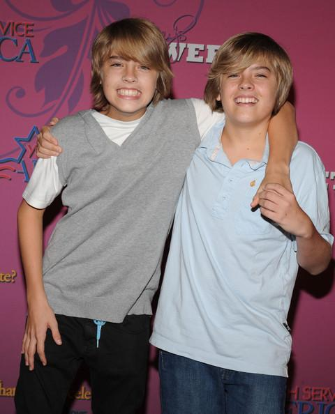 in this photo dylan sprouse cole sprouse miley s sweet 16 miley cyrus