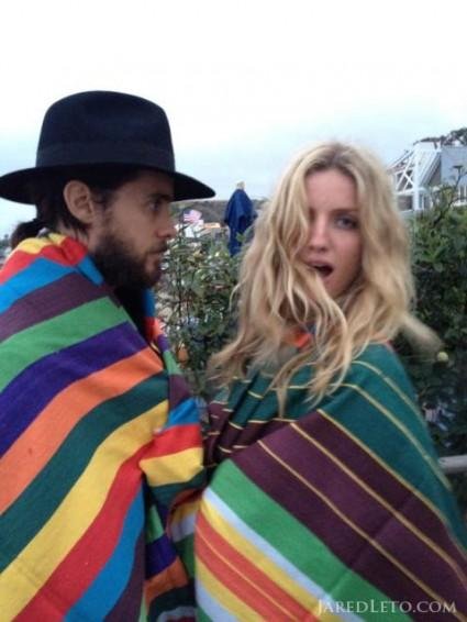Jared Leto, Annabelle Wallis Photos