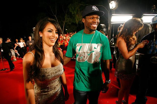 Kim Kardashian and 50 Cent | Flickr - Photo Sharing!