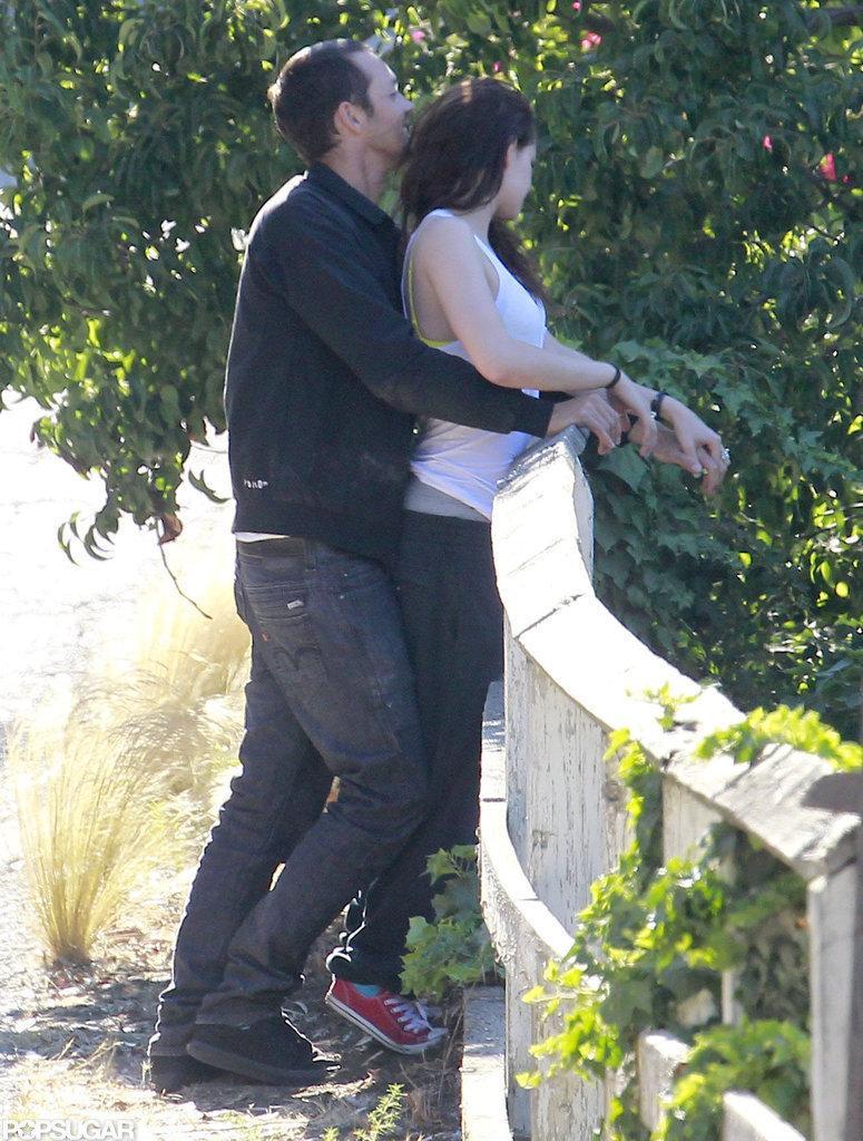 Kristen Stewart and Rupert Sanders Kissing | Pictures | POPSUGAR