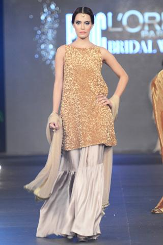 Stirred Bridal Collection Of Sadaf Malaterre At PFDC L'Oreal Paris