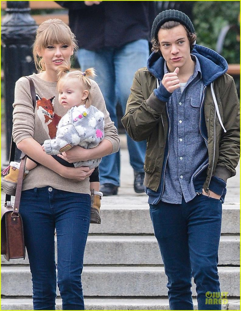 Taylor Swift & Harry Styles: Central Park Stroll!: Photo