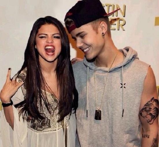 Selena Gomez and Justin Bieber photos