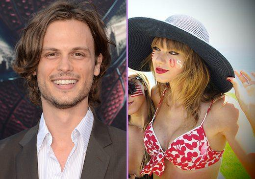 Taylor Swift, Matthew Gray Gubler dating, MediaTakeOut all over