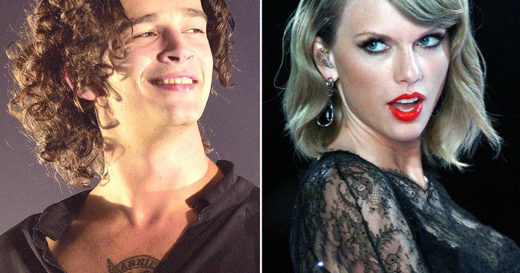 Taylor Swift Fuels Matt Healy Dating Rumors by Attending 1975 Show