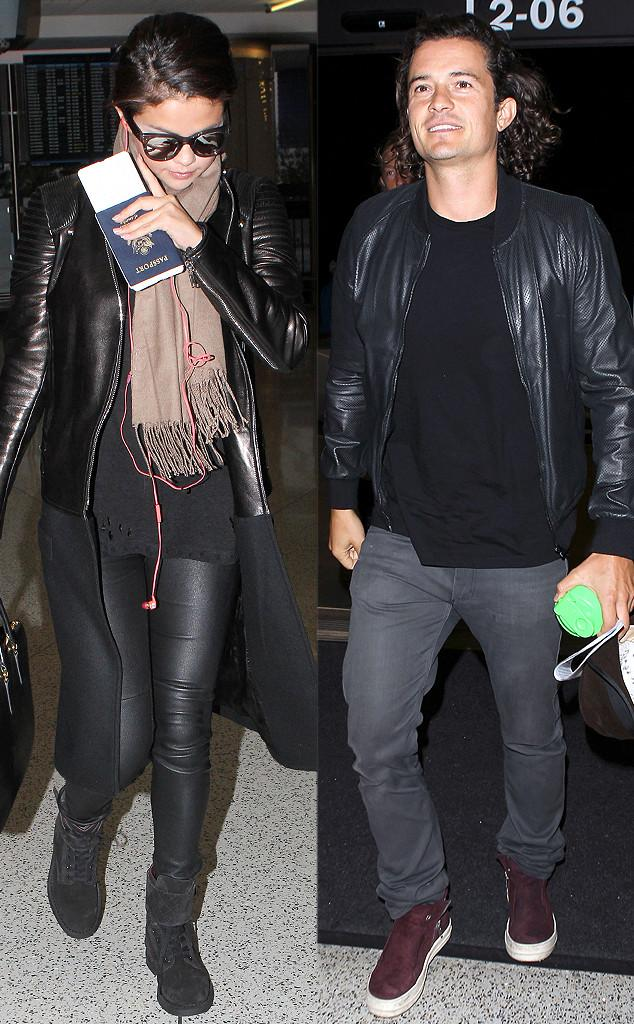 Selena Gomez e Orlando Bloom so flagrados em aeroporto | E! Online