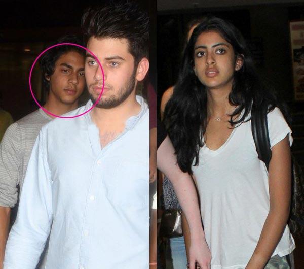 5 Pics That Prove Aryan Khan And Navya Naveli Nanda DON'T Want To