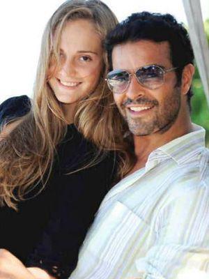 Pablo Montero and Carolina Van Wielink Photo