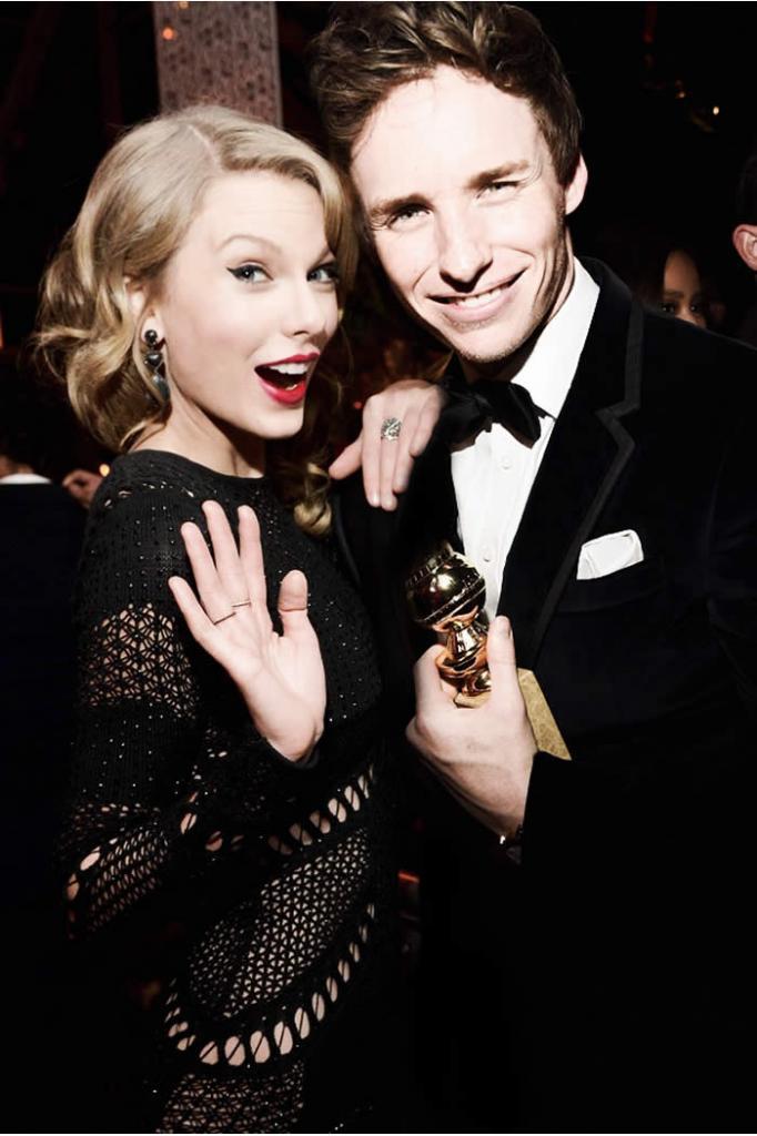 Eddie Redmayne Clears Up Taylor Swift Dating Rumors