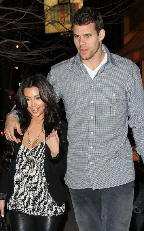 photo of kim kardashian and boyfriend kris humphries