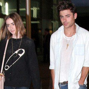 Look: Zac Efron & Lily Collins Spotted Holding Hands at Disneyland