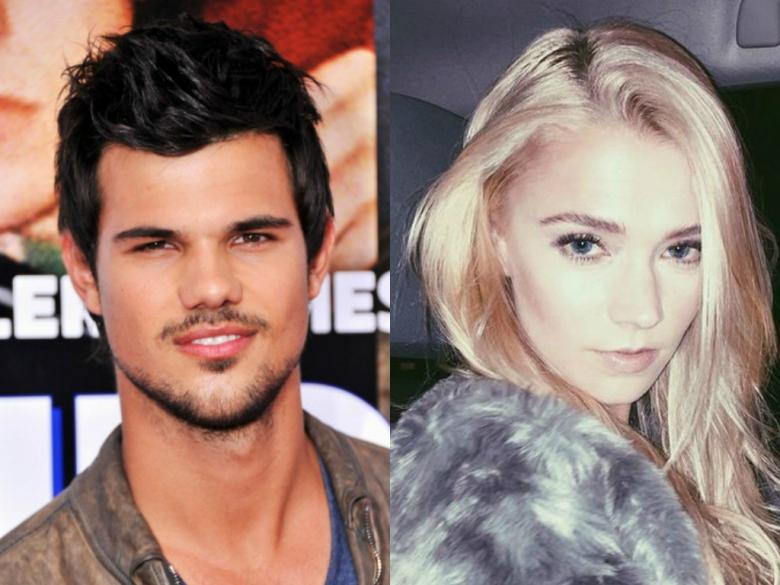 Star Taylor Lautner NOT In A Relationship With Model Raina Lawson