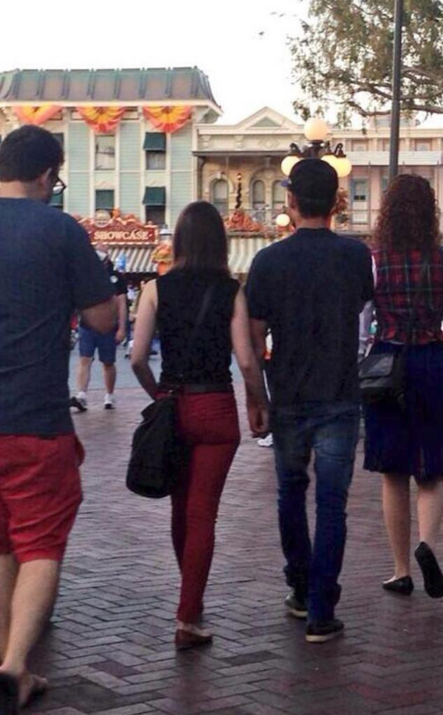 Zac Efron & Lily Collins Holding Hands at Disneyland See the Cute
