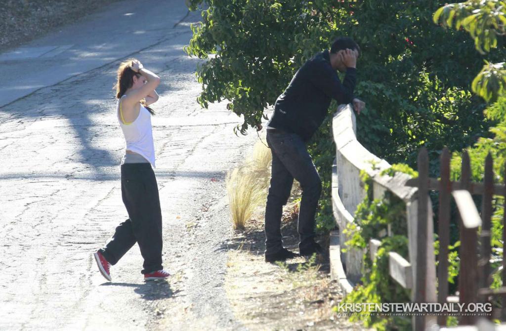 KRISTEN STEWART and Rupert Sanders Affair Pictures - HawtCelebs