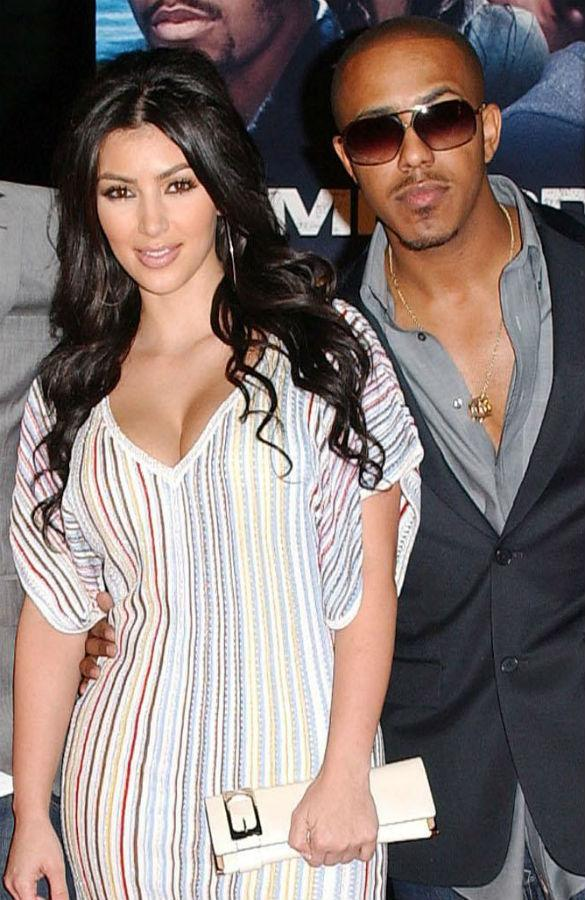 Kim Kardashian dating history: Marques Houston