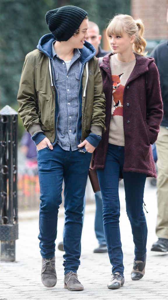 Fotos - Taylor Swift Harry Styles Central Park Couple Amoureux