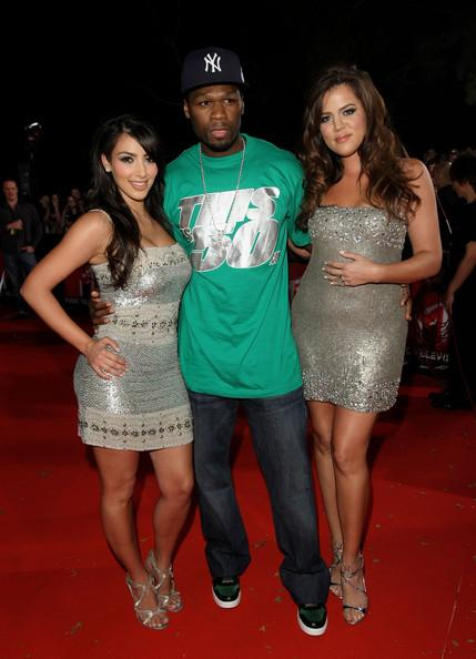 2008 in this photo kim kardashian 50 cent l r kim kardashian 50 cent