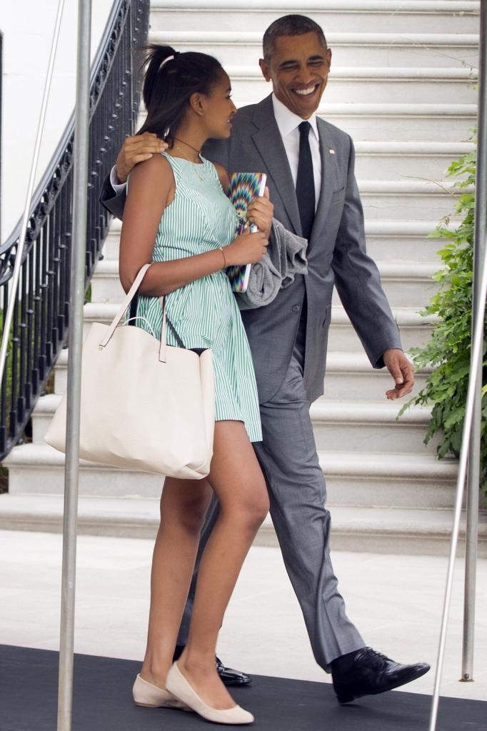Sasha And Malia Obama's Best Fashion Looks - Style Evolution Of