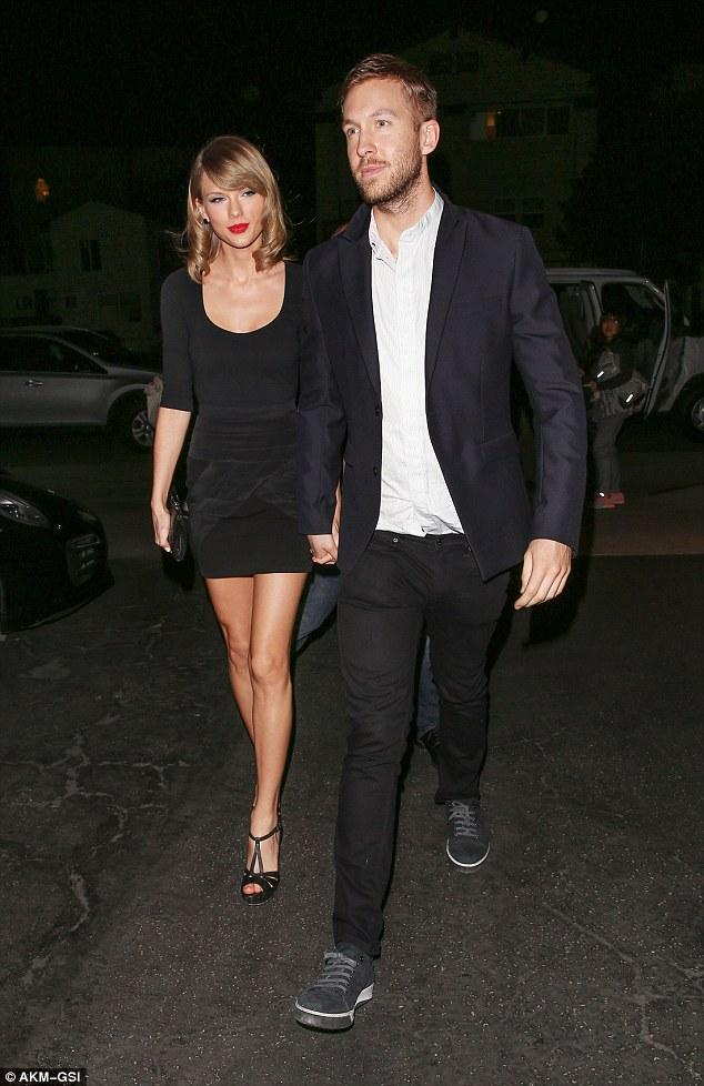 Dinner declaration: Taylor Swift and Calvin Harris made it clear they