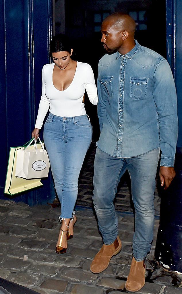 Kim Kardashian, Kanye West Photos