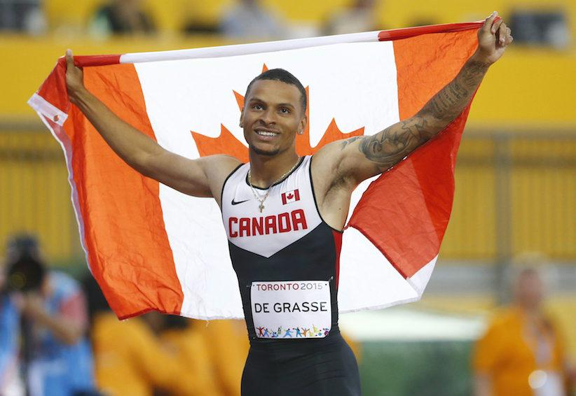 A Coup De Grasse For Canada's Homegrown Sprinter