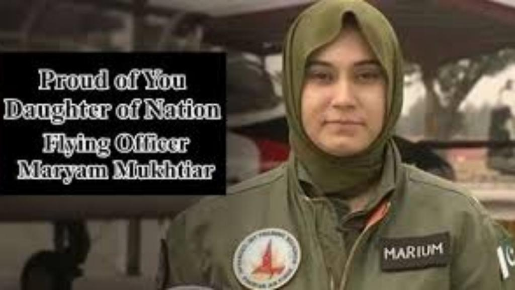 A Tribute To Proud Daughter Of Pakistan, Flying Officer Marium