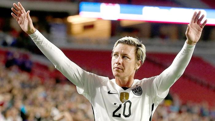 Abby Wambach Announces Retirement With Dramatic Tweet - Us Weekly