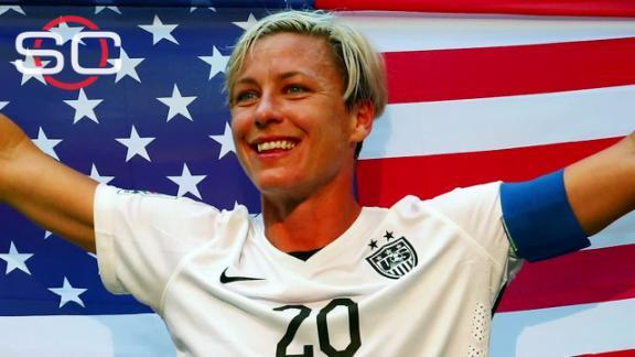 Abby Wambach Walks Away With A Smile As She Retires From U.S.