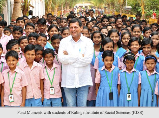 Achyuta Samanta And The Role Of KISS In Empowering Odisha's Tribals