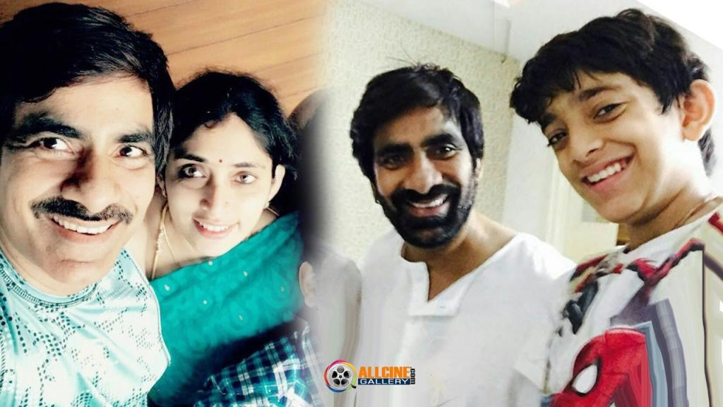 Actor Ravi Teja Family Photos With Wife Kalyani, Daughter