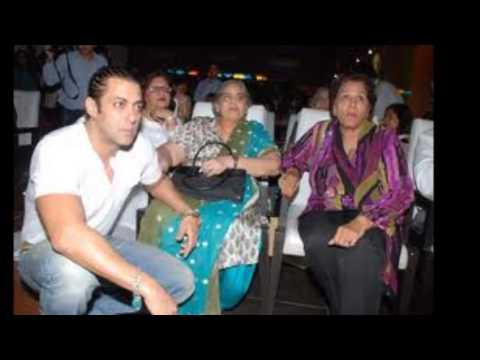Actor Salman His Mother Salma Khan - Susheela Charak Video
