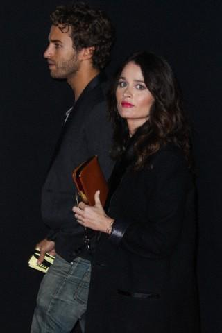 Actress Robin Tunney And Her Partner Nicky Marmet   Robin's
