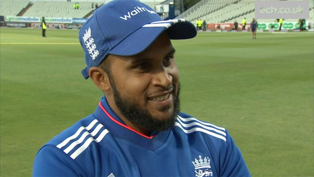Adil Rashid On His 69 And 4-55 In England's Win At Edgbaston - YouTube