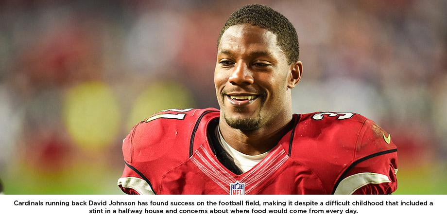 After Rough Start, Happy Life For David Johnson