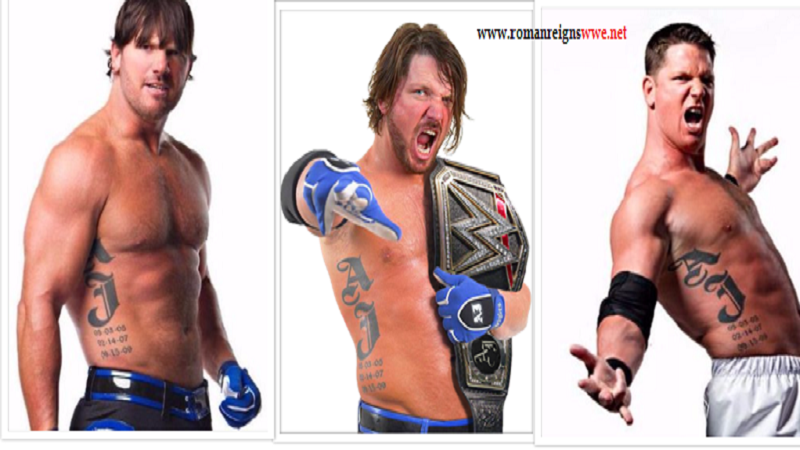 AJ Styles Tattoo Meanings And Story Behind It  HD Images