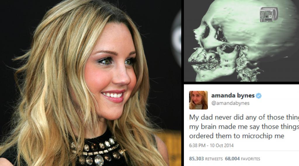 Amanda Bynes Says Microchip In Her Brain Made Her Tweet Bad Things     TIP