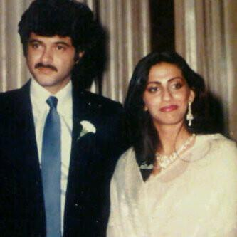Anil Kapoor And Sunita Kapoor Marriage Pictures Love Story Wedding Album