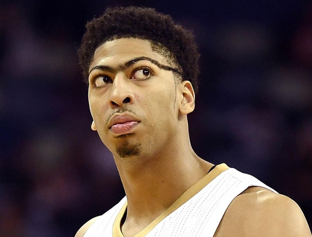 Anthony Davis' Unibrow Now Wrapping Completely Around Head