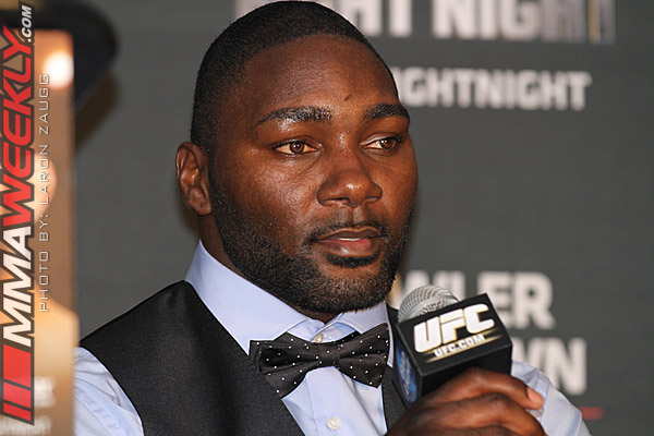 Anthony Johnson Indefinitely Suspended By UFC Following Report Of