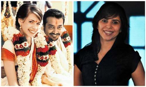 Anurag Kashyap With First Wife Aarti Bajaj And Kalki Koechlin