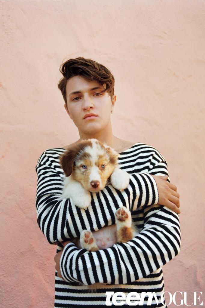 Anwar Hadid Teen Vogue June/July 2016 Cover   Teen Vogue