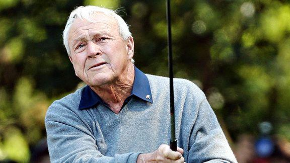 """Arnold Palmer """"The King"""" Classic Moments In Golf - CLICKON Golf"""